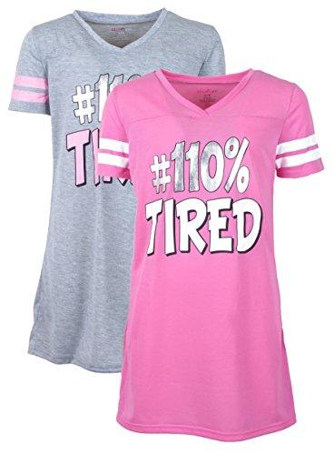 dELiA*s Girls Nightgown Pajama Sleepwear Sets (2 Pack)