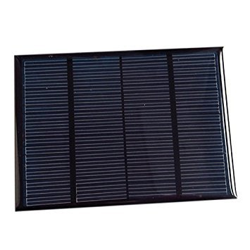 TOOGOO(R) Solar Panel Module For Battery Cell Phone Charger DIY Model:115X85mm 12V 1.5W