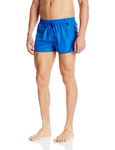 Diesel Men's Sandy 2 inch Quick Dry Fold and Go Swim Trunk, Blue, X-Large