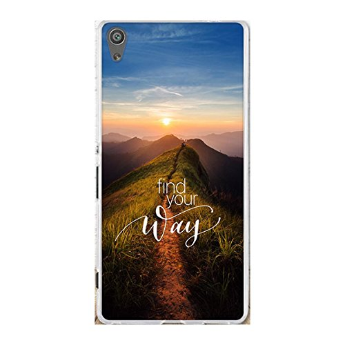 """Xperia XA Ultra Case,Gift_Source Slim Thin Rubber Shock-Absorption Bumper Case Flexible Soft Silicone Gel TPU Anti-Scratch Back Cover for Sony Xperia XA Ultra 6.0"""" (not fit Xperia XA) [Sunrise]"""