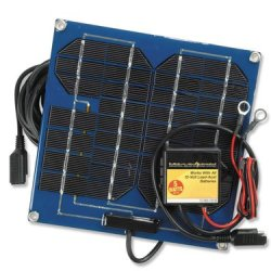 Solar Battery Charger and Solar Battery Pulser Combination Unit - 5 Watts