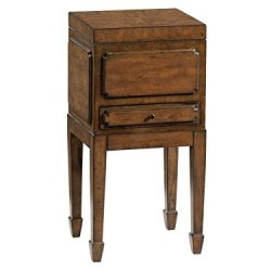 Hekman Furniture Chair Side Chest End Accent Side Table