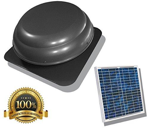 Brightwatts Premium Solar Attic Fan, (25 Watts)