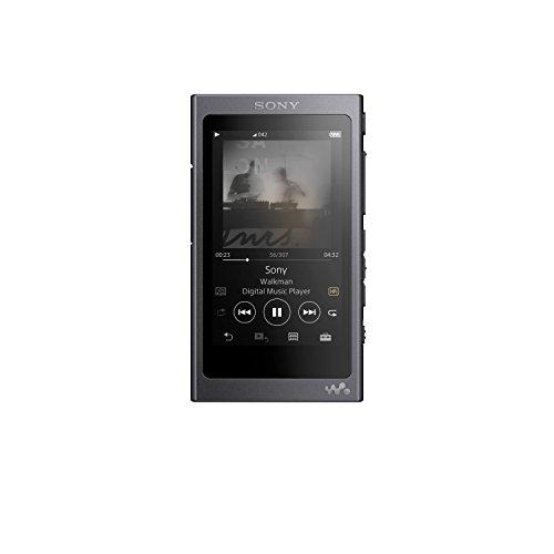 Sony NW-A45/B Walkman with Hi-Res Audio, Grayish Black (2018 Model)