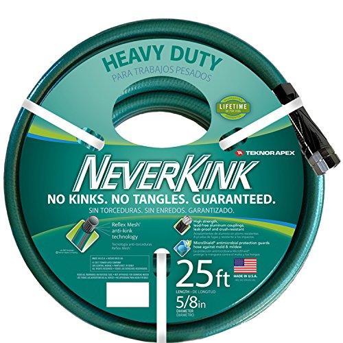 Teknor Apex NeverKink 8615-25, Heavy Duty Garden Hose, 5/8-Inch by 25-Feet