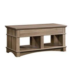 Sauder 420329 Lift-Top Coffee Table End, Grey