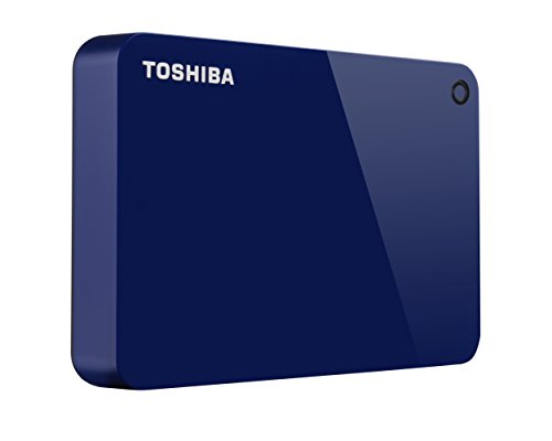 Toshiba Canvio Advance 3TB Portable External Hard Drive USB 3.0, Blue