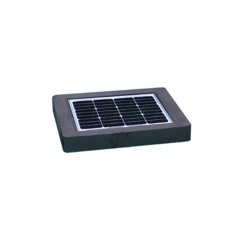Natural Current NCELIMINATOR1 Savior Pool Eliminator Solar Pump Filter Cleaner and Ionizer Pool Accessories, 30-watt