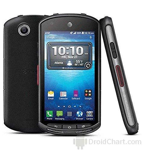 Kyocera DuraForce E6560 16GB Unlocked GSM 4G LTE Military Grade Smartphone w/ 8MP Camera - Black