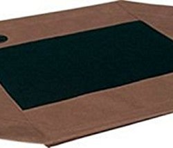 """K&H Pet Products Original Pet Cot Replacement Cover Large Chocolate/Mesh 30"""" x 42"""""""