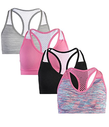 dELiA*s dELiAs dELiAs Girls' Seamless Sports Performance Bra With Removable Pads