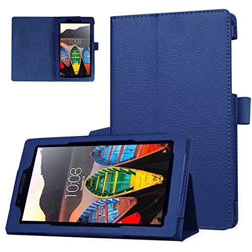 ANGELLA-M Lenovo Tab 3 7 Essential Case, Slim Fit Premium Litchi Texture