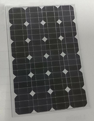 55W Watt Mono Solar Panel Off Grid RV Boat Battery Charger