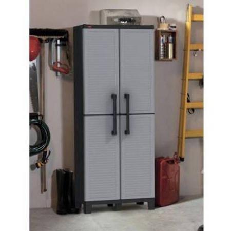 Keter Space Winner Tall Metro Storage Utility Cabinet Indoor/Outdoor