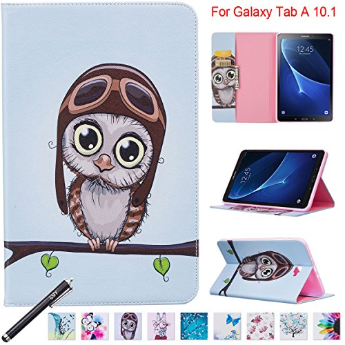 Galaxy Tab A 10.1 Case - Newshine Stand Folio Case Cover for Samsung Galaxy Tab A 10.1 Inch