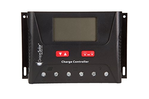 Grape Solar GS-PWM-40BT 40 Amp PWM Solar Charge Controller with Remote Monitoring