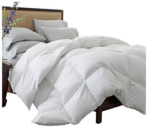 Superior Solid White Down Alternative Comforter, Duvet Insert, Medium Weight for All Season