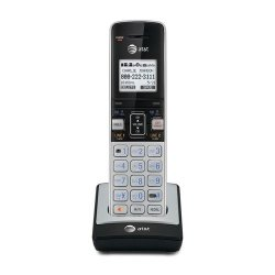 AT&T Accessory Handset with Caller ID/Call Waiting for Silver/Black