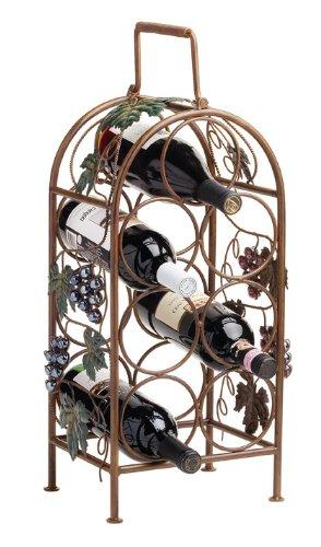 Grapevine 7 Bottle Wine Rack by Twine