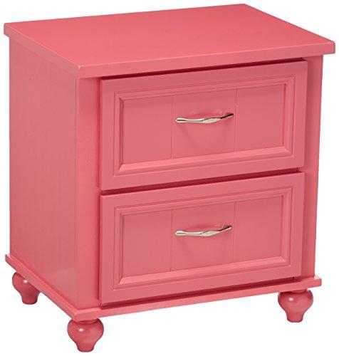 Childrens, nightstand, Pink