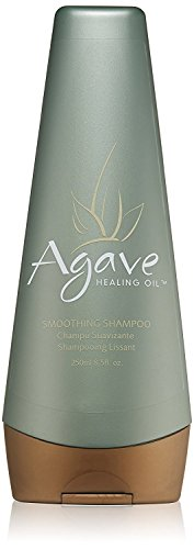 Agave Healing Oil - Smoothing Shampoo. Anti Frizz Daily Moisturizing Shampoo that Gently Removes Dirt and Styling Build Up. Sulfate Free, Paraben Free, Phthalate Free and Cruelty Free (8.5 fl.oz)
