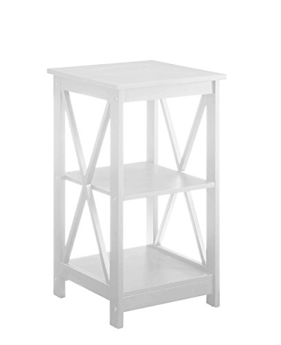 Convenience Concepts Oxford End Table, White