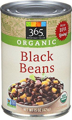 365 Everyday Value, Organic Black Beans, 15 Ounce