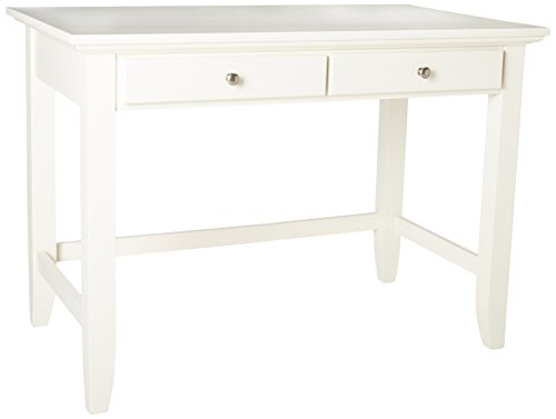 Home Styles Naples Student Desk, White Finish