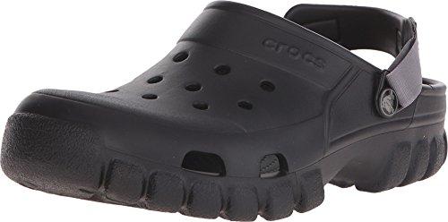 Crocs Unisex Offroad Sport Clog, Black/Graphite, 11 M (D) US Men/13 M (B) US Women