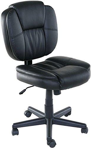 OneSpace Basics Mid-Back Plush Task Chair, Tilt & Height Adjustment