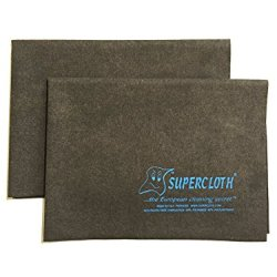 Supercloth - World Famous Household Cleaning Cloth and Dusting Cloth - 17 Inches x 13 Inches, 2 Pack (5pk, 10pk Also Available)