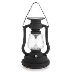Ezyoutdoor 7 LED Solar Powered Hand-cranked Hanging Solar Charging Camp Lights Camping Hiking Fishing Camping Lights Camp Light Outdoor Lights Indoor & Outdoor Tents lamp Lantern Lamp Light