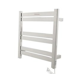 Starling 6-Bar Stainless Steel Wall Mounted Electric Towel Warmer Rack in Polished Chrome