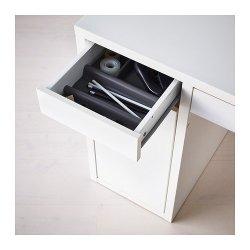 Ikea Desk, White, MICKE 802.130.74