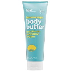 bliss Body Butter   Paraben Free Maximum Moisture Cream   6.7 fl. oz. Body Lotion For Dry Skin   Instant Long-Lasting Moisturizer for Women & Men   Available in 5 Different Scents