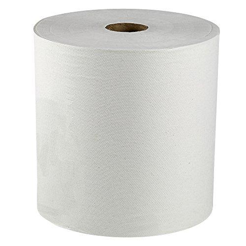 "Scott Hard Roll Paper Towels (02000), 1.75"" Core, White, 9500'/Roll, 6 Rolls/Convenience Case, 5,700'/Case"