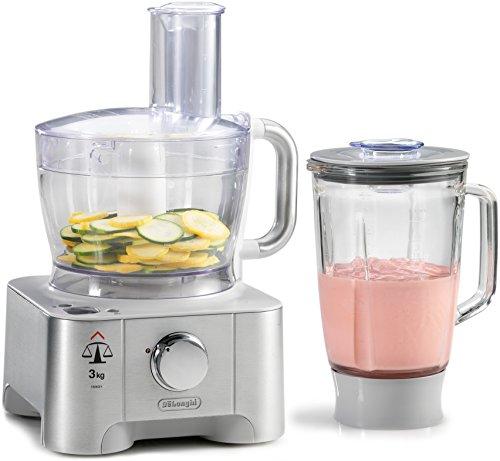 DeLonghi Die-cast 3-in-1 Food Processor,Blender, Scale