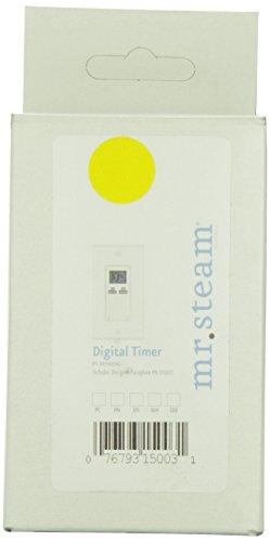 Mr. Steam 103588DIG Programmable Timer for Towel Warmer, White