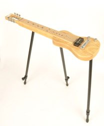 SX Lap 2 Ash NA Electric Lap Steel Guitar w/Stand & Bag