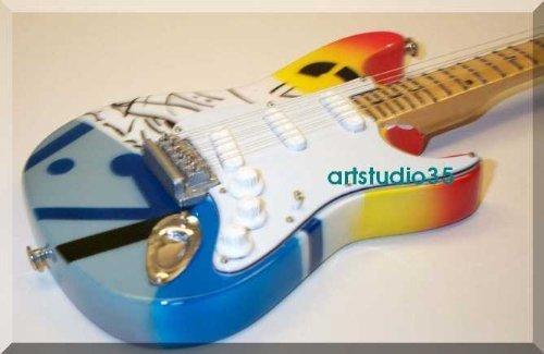 ERIC CLAPTON Miniature Mini Guitar Crash by ARTSTUDIO35