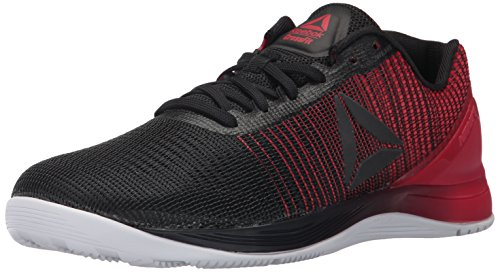 Reebok Men's Crossfit Nano 7.0 Cross-Trainer Shoe, Black/White/Primal Red, 9.5 M US