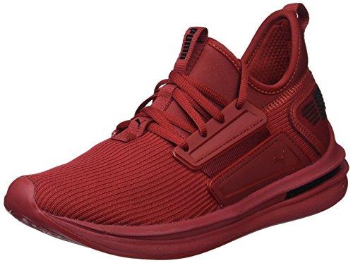 PUMA Men's Ignite Limitless SR Sneaker, Red Dahlia, 12 M US
