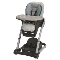 Graco Blossom 6-in-1 Convertible High Chair Seating System, Sapphire