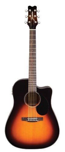 Jasmine J-Series Acoustic-Electric Guitar, Sunburst