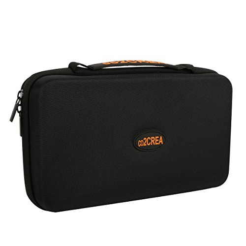 """co2CREA (TM) Universal Hard Shell EVA Carrying Storage Travel Case Bag for Powerbank HDD / Electronics/Accessories Extra Large (10.2""""x""""6.4""""x3.2"""" inch)"""