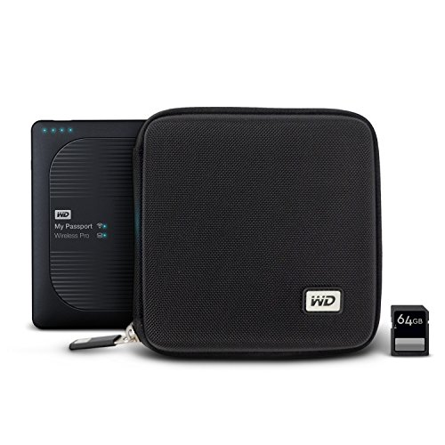 WD My Passport Wireless Pro Hard Case with SD Card Slots