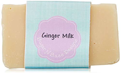Sugar N Sass Designs Ginger Milk Soap Bar