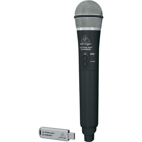 Behringer Ultralink High-Performance 2.4GHz Digital Handheld Microphone and Dual-Mode USB Receiver