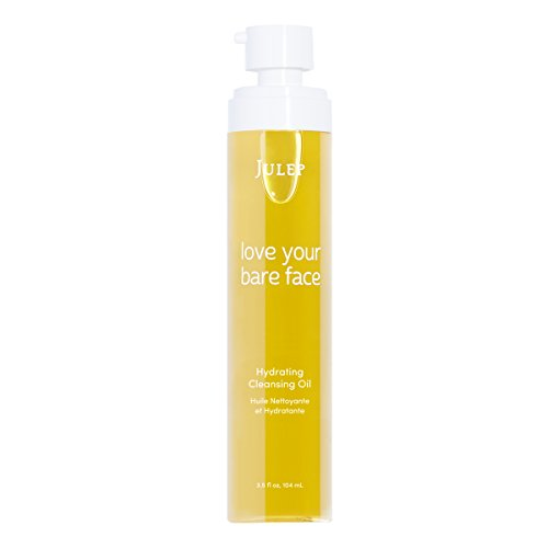 Julep Bare Face Hydrating Cleansing Oil and Makeup Remover, Face Wash for Normal to Dry Sensitive Skin, More Sizes Available