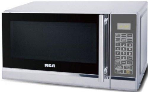 RCA Cubic Foot Microwave, Stainless Steel Design